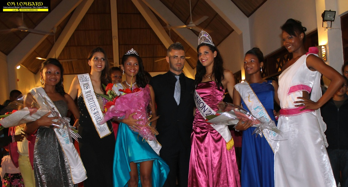 Om LOMBARD : Jury's President of Miss RODRIGUES 2014 – Grande FINALE by Defi Quotidien Mauritius  and 7 Magazine Reunion – 6/6/2014 MAURITIUS and REUNION Island